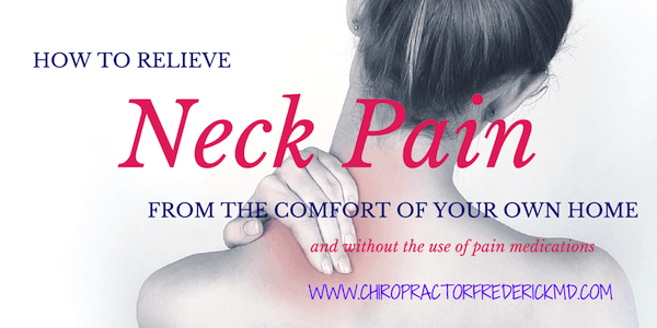 how to help neck pain at home
